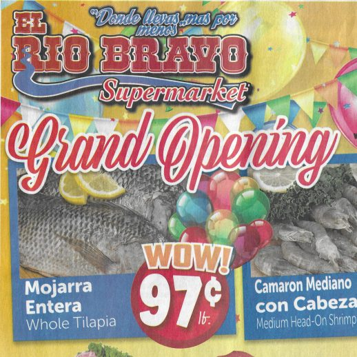 Rio Bravo supermarket Ad